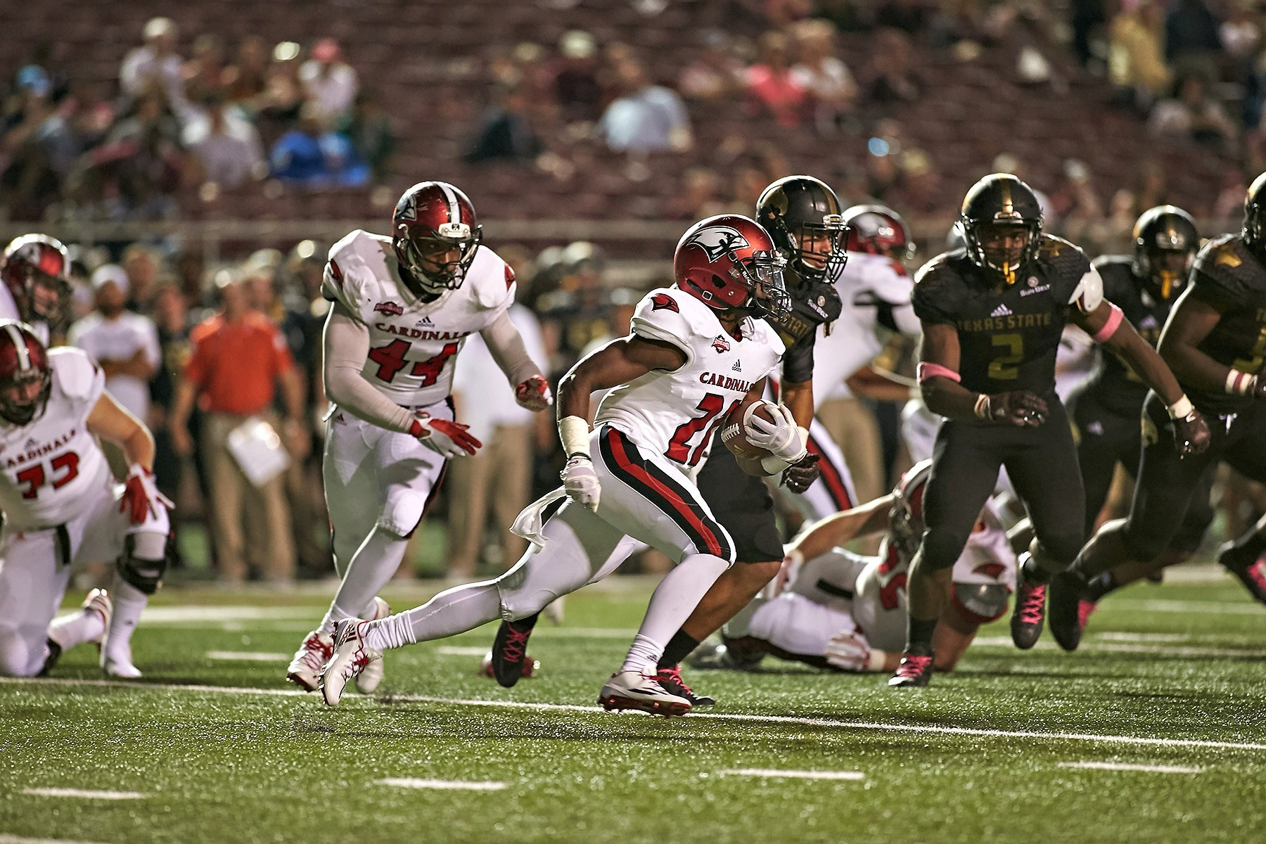 UIW Upended by Texas State, 48-17